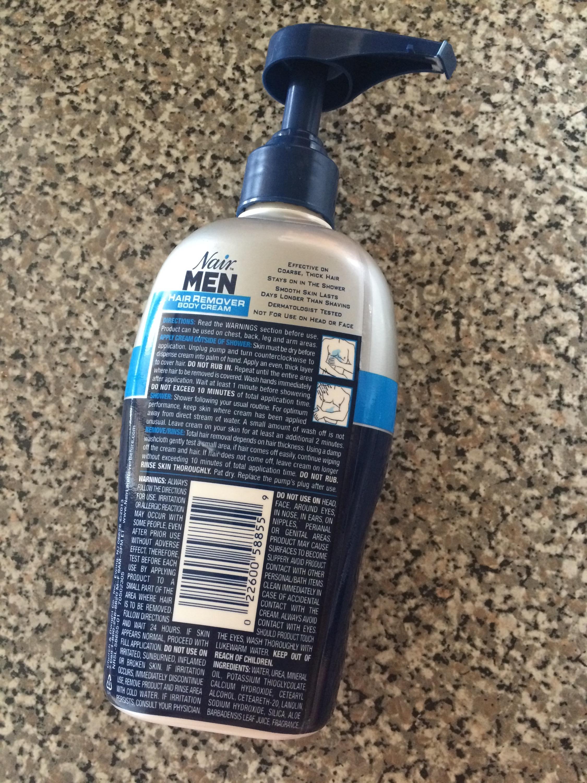 For The Guys Nair For Men Hair Remover Body Cream Jocey S