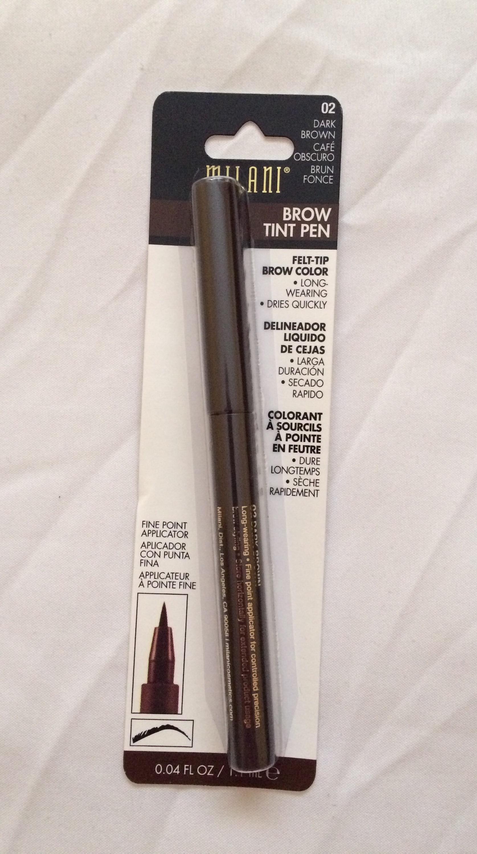 Product Review Milani Brow Tint Pen Jocey S Beauty Files